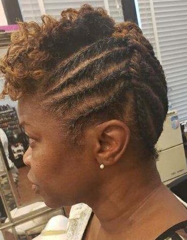 After - Natural Hair