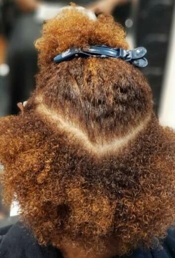 Before - Natural Hair