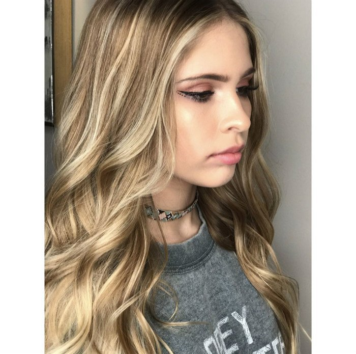 Studio Seven - Beautiful balayage and cut by our Level One sylist - Madison