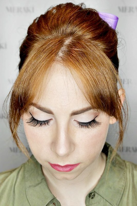 Full Application with Individual Lashes