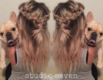 Studio Seven - Logen and Her Pup Rico!