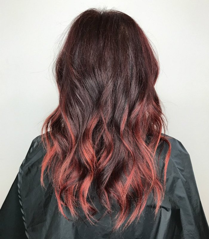 Studio Seven - Our stylists are always in training! This shot is from a class our stylist, Jill, had attended at the L'Oreal Professionnel Academy in SOHO, NY! Amazing color transformation!