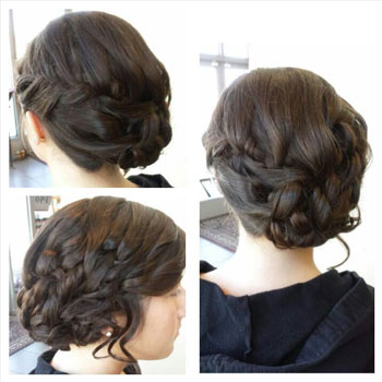 Up-do by Melissa!