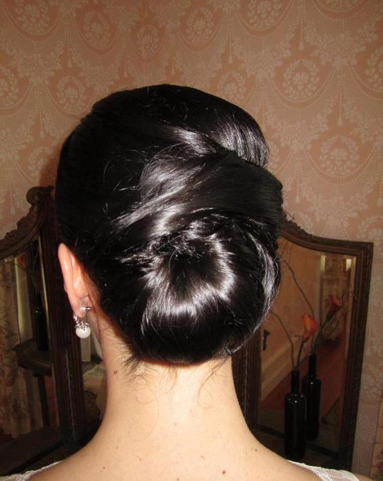 Updo Bridal Hair by Jenni