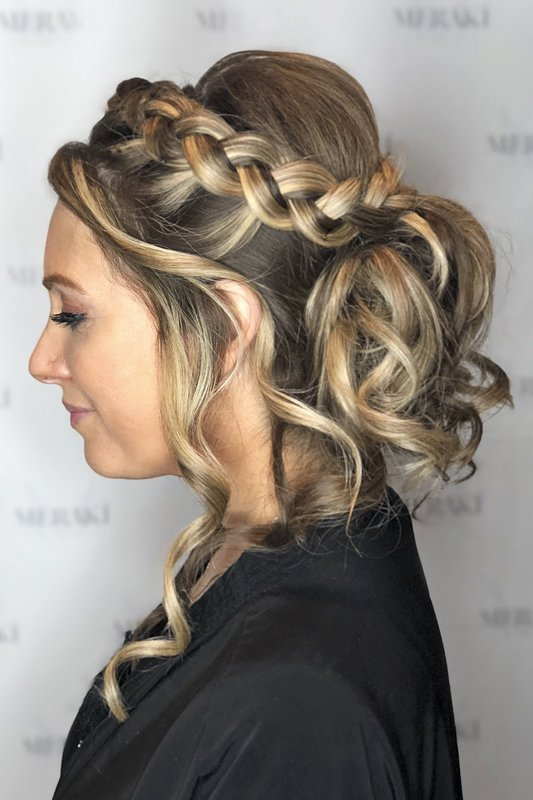 Formal Styling Side Braid