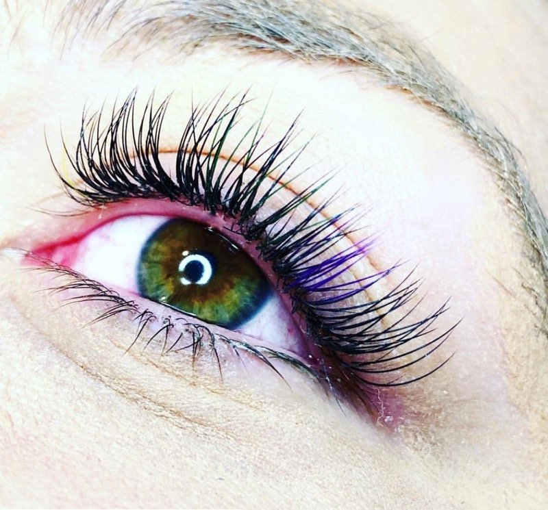 Color Lash Extensions