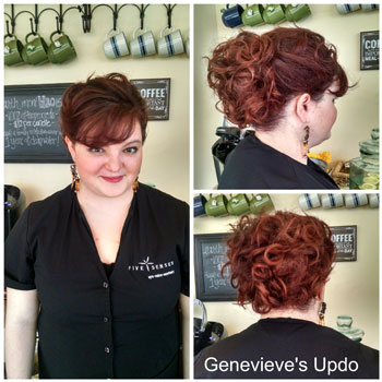 Up-do by one of our stylists!