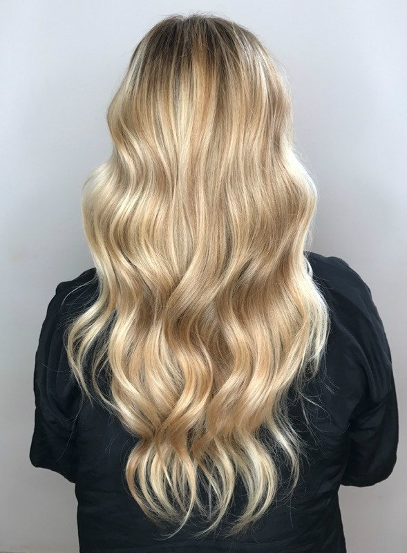 Studio Seven - Check out this blonde bombshell by both Amy and Jill! Both girls completed this look at the L'Oreal Professionnel Academy in their Balayage Live class!