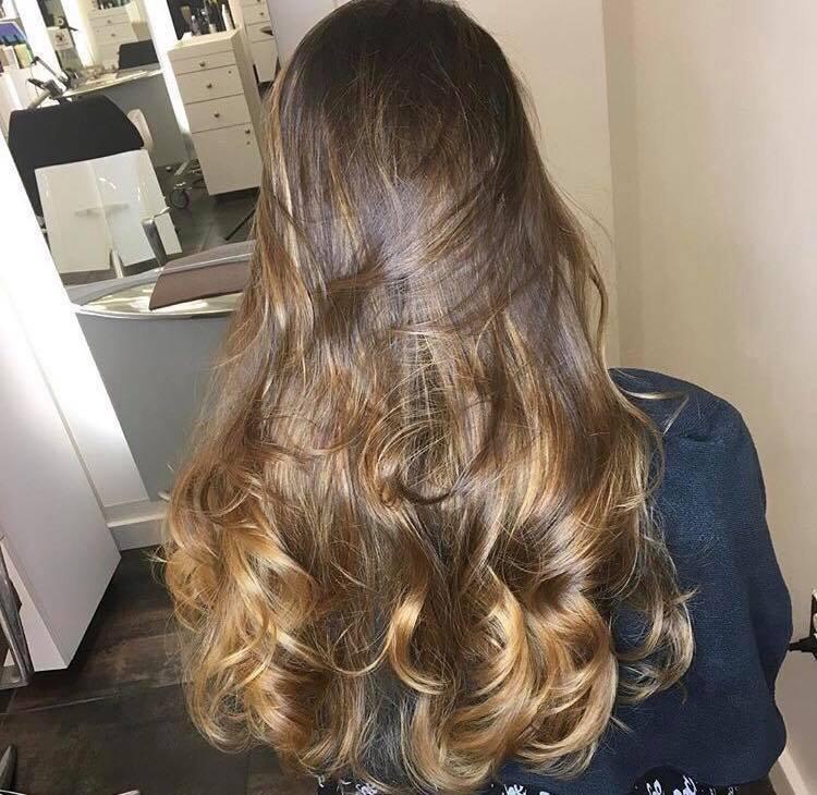 Balayage & Curls