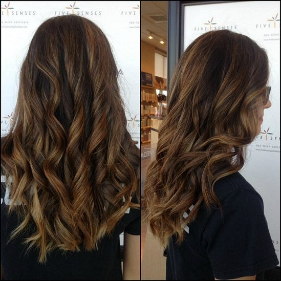 Cute balayage done by Lyssa!