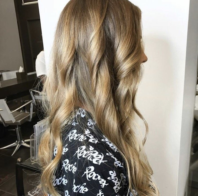 Flawless Honey Toned Waves