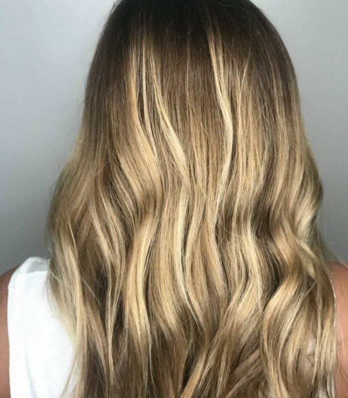 Studio Seven - Soft waves to bring out that dimension! Wow - Balayage and cut by Amy