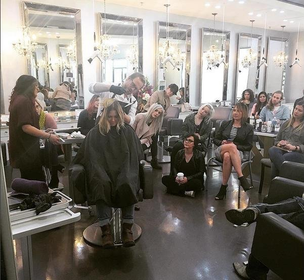 In-salon Education