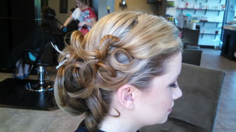 Formal Styling - Updo
