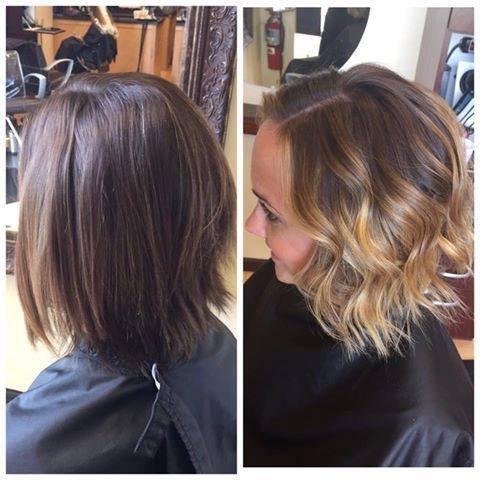 Laura brighten up her hair and added a fresh new cut to go along with it!