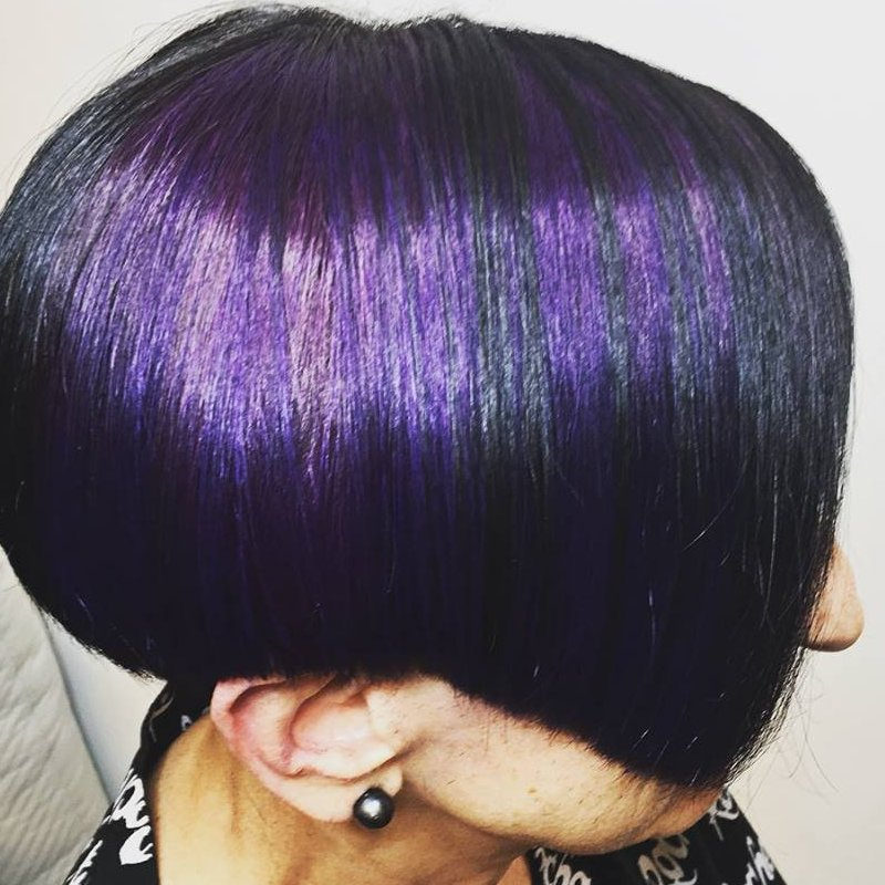 Purple Envy & Precision Cut