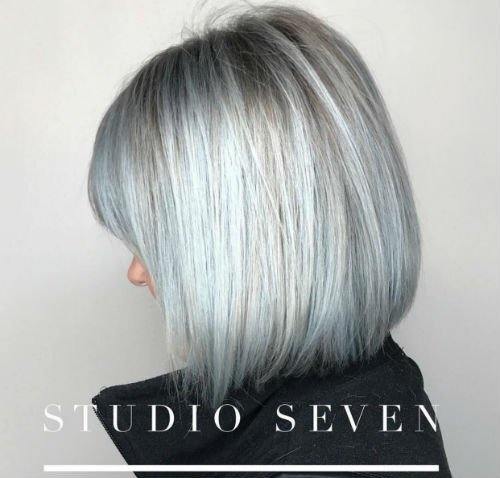 Studio Seven - Hues of Blue by our Level Five stylist - Jill