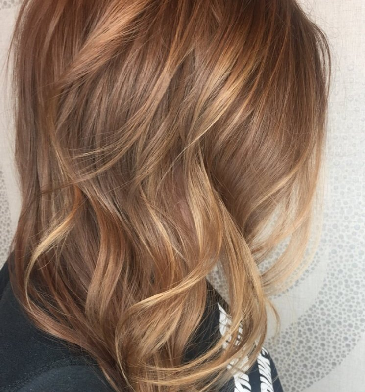 Studio Seven - Gorgeous color and cut by our level one stylist, Callie