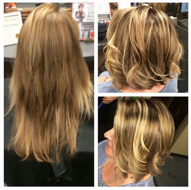 Moments Salon and Spa - Length isn't everything....#goshort #takebackyourlife #hairgoals