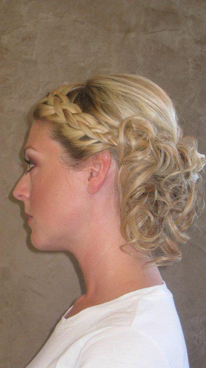 Bridal Hair by Stephanie