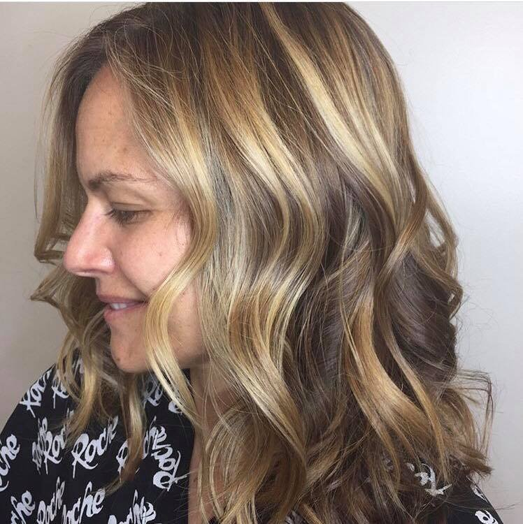 Root Shadow+Balayage
