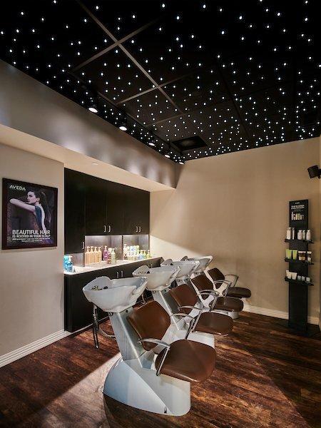 Shampoo Experience Area