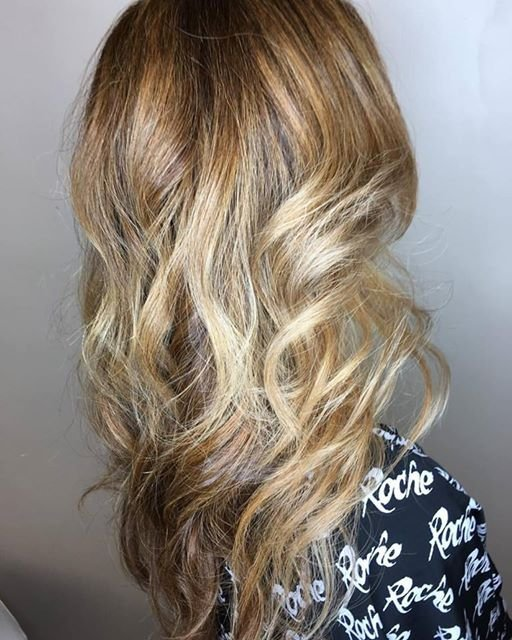 Beige and Sandy Balayage