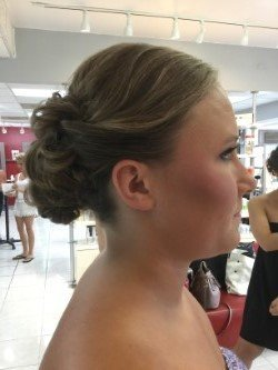 Bridesmaid Updo