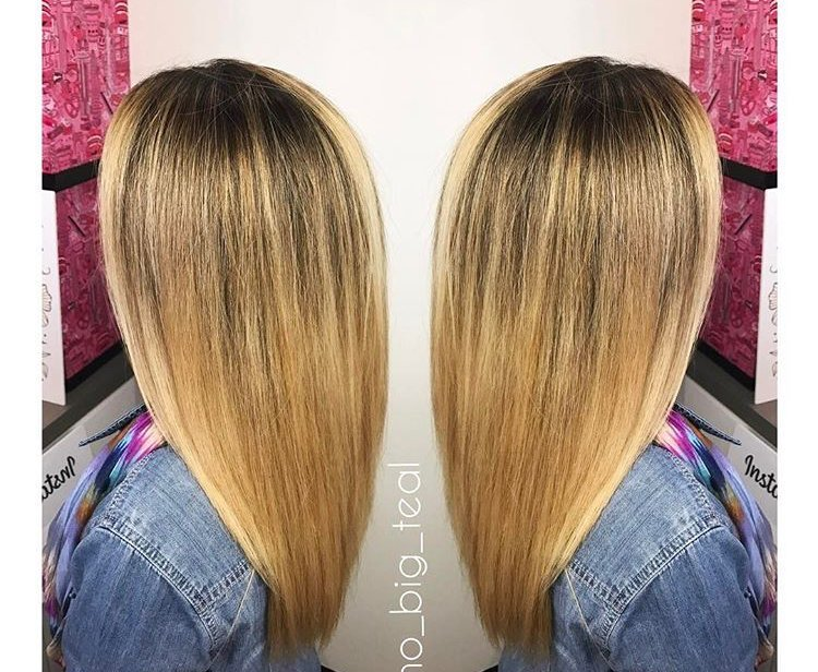 Rooted Striking Balayage