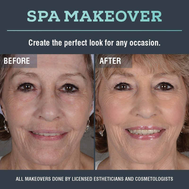 Spa Makeover Before & After