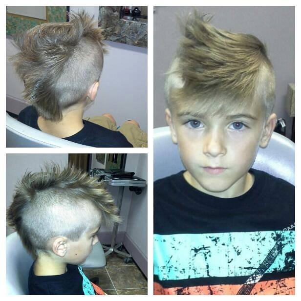 Design Cut - Boy's mohawk cut