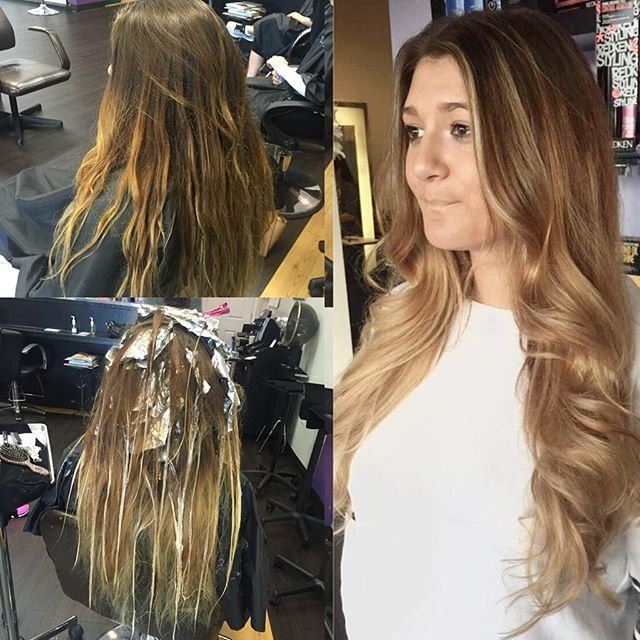 Beautiful Ombre Transformation