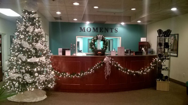 Happy Holidays from Moments Salon