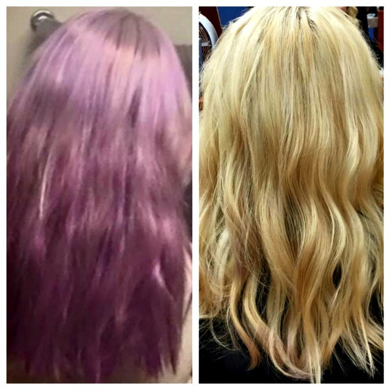 A beautiful and healthy hair transformation