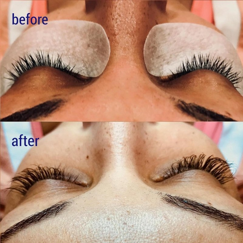 Love these gorgeous eyelash extensions for more voluminous lashes!