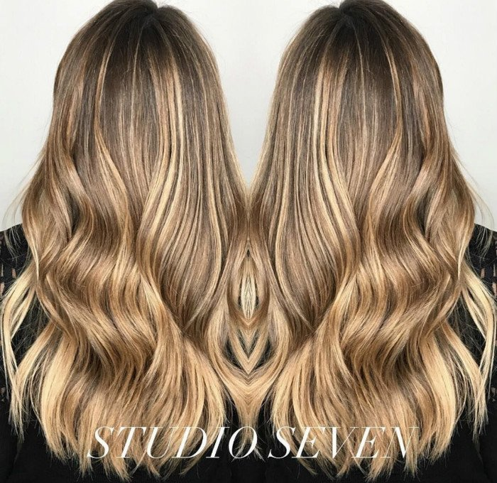 Studio Seven - WOW! Check out this waterfall hair - Color & Cut perfectly executed by our Level Five stylist - Jill