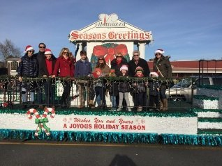 VM Holiday Parade Float