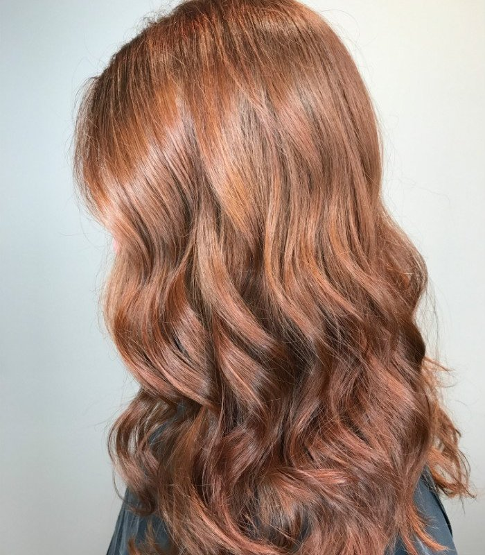 Studio Seven - #copperwaves by level five stylist - Jill - Ask your colorist how to incorporate the HOTTEST hair trend into your style!