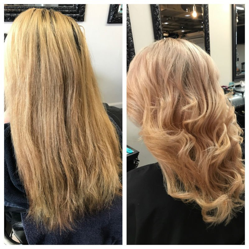 Color Makeover Beautiful transformation