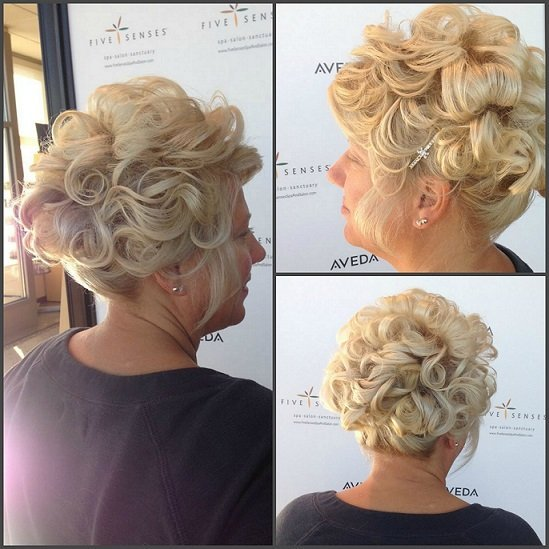 Mother of the Groom Bridal Up-do by Lyssa!