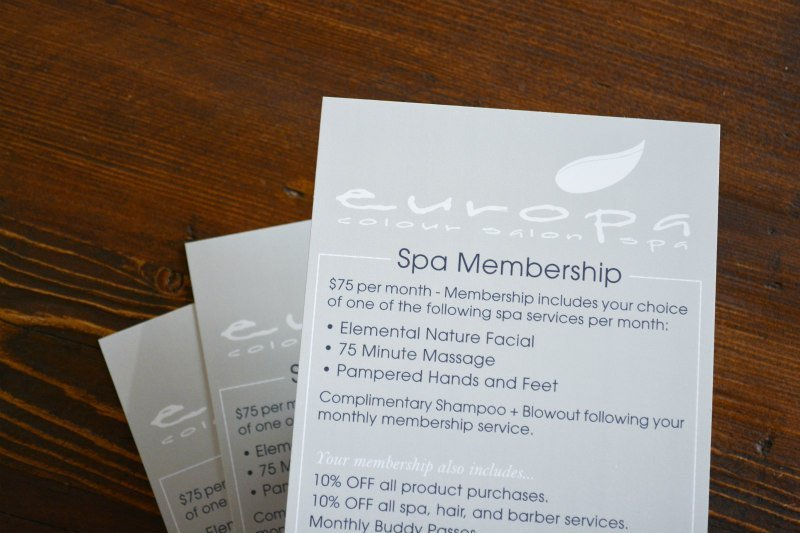 Europa Spa Membership