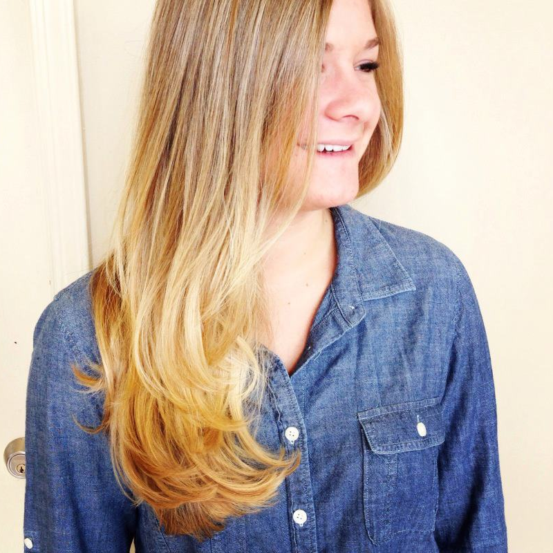 Beautiful blonde by Emily