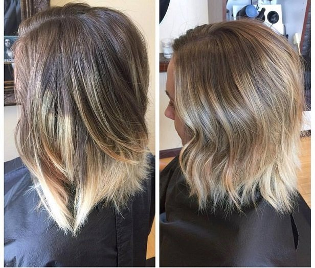 Katy visited us today for a re-do of her ombre done elsewhere that she wasn't really happy with.. Our stylists transformed the look and she left with a beautiful new color!