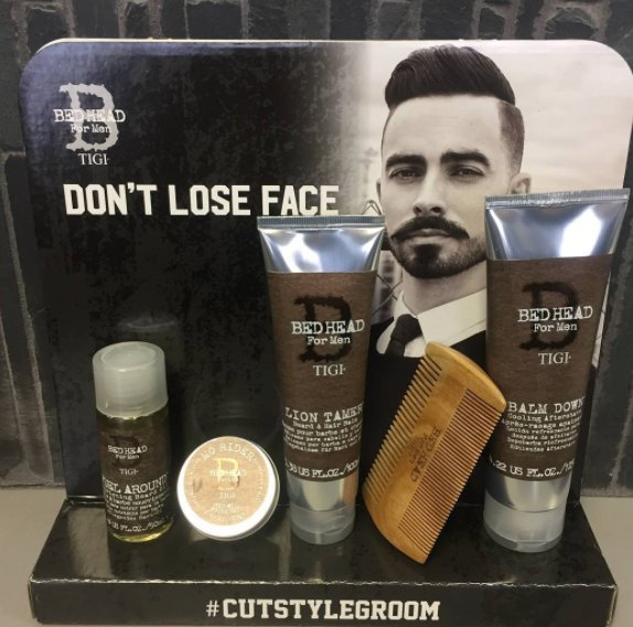 IGI for men's beard line! We love beards, keep them well maintained with this amazing new line from TIGI! #brownanddeline #annarborsalon #itsallaboutyou #tigi #beards #men #mensline
