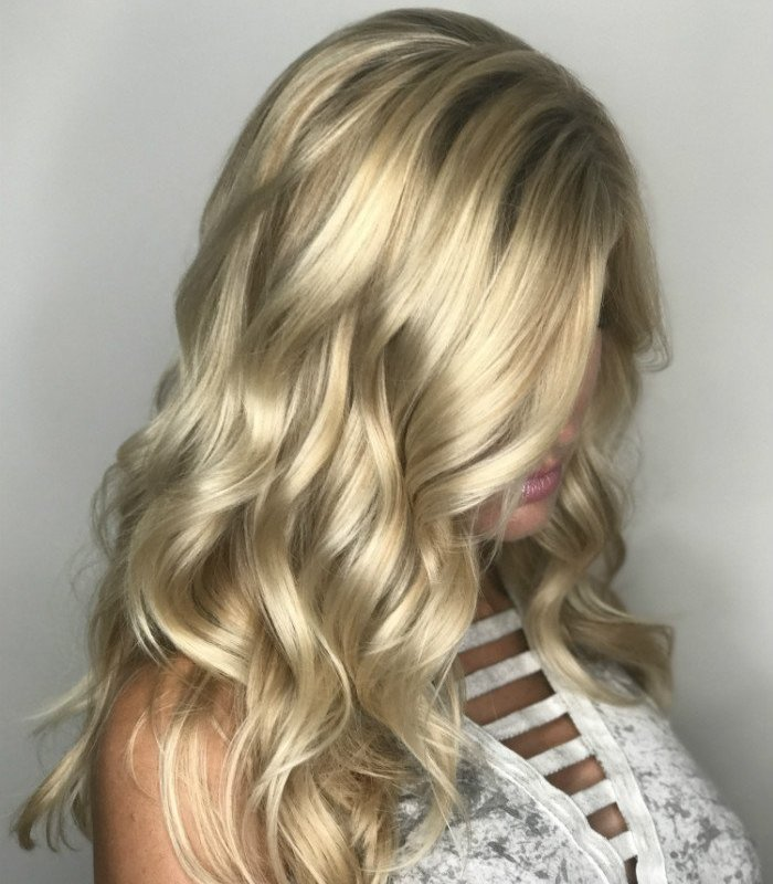 Studio Seven - It's ALWAYS a good hair day when Brooke visits the salon! Balayage and cut by Amy
