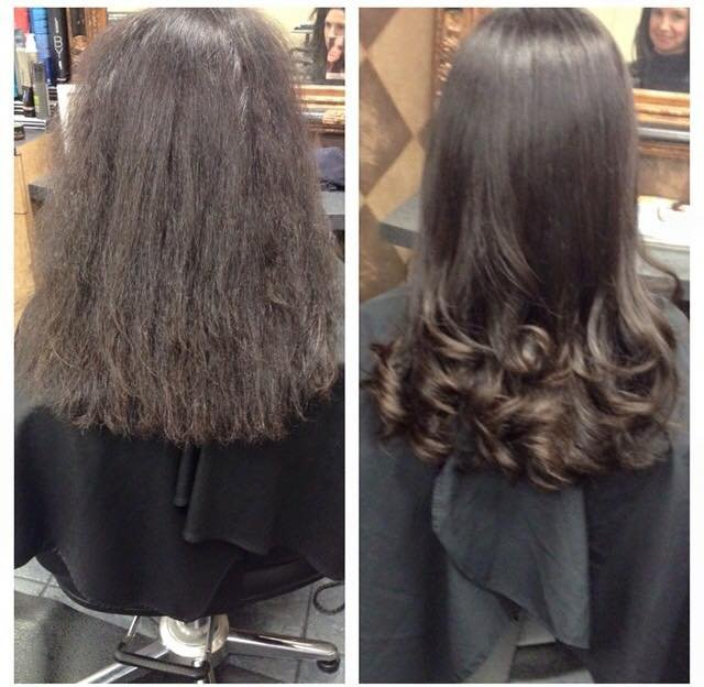 Bye Bye Frizz - Come in and schedule your Straightening & Texturizing session.