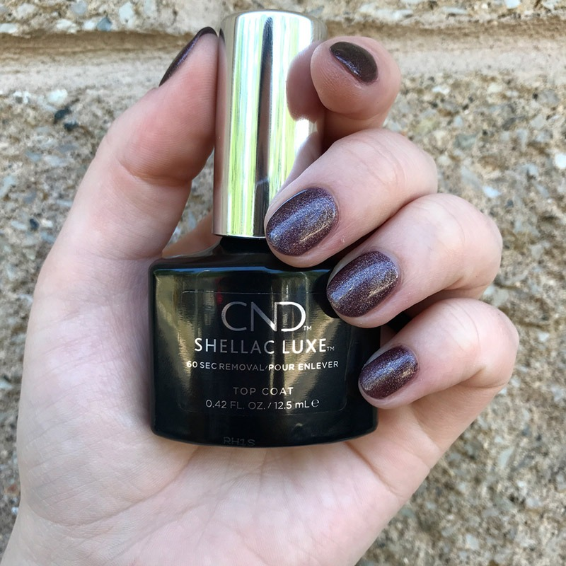 Shellac Luxe Manicure by Mae