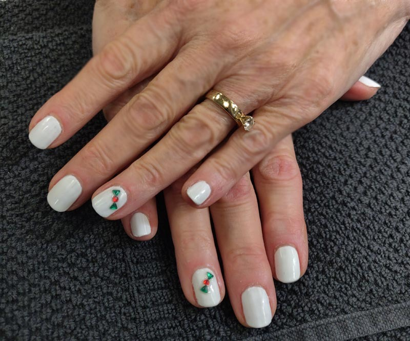Holiday Nails by Shirley