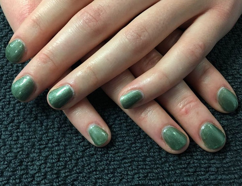 Shellac Manicure by Jenni