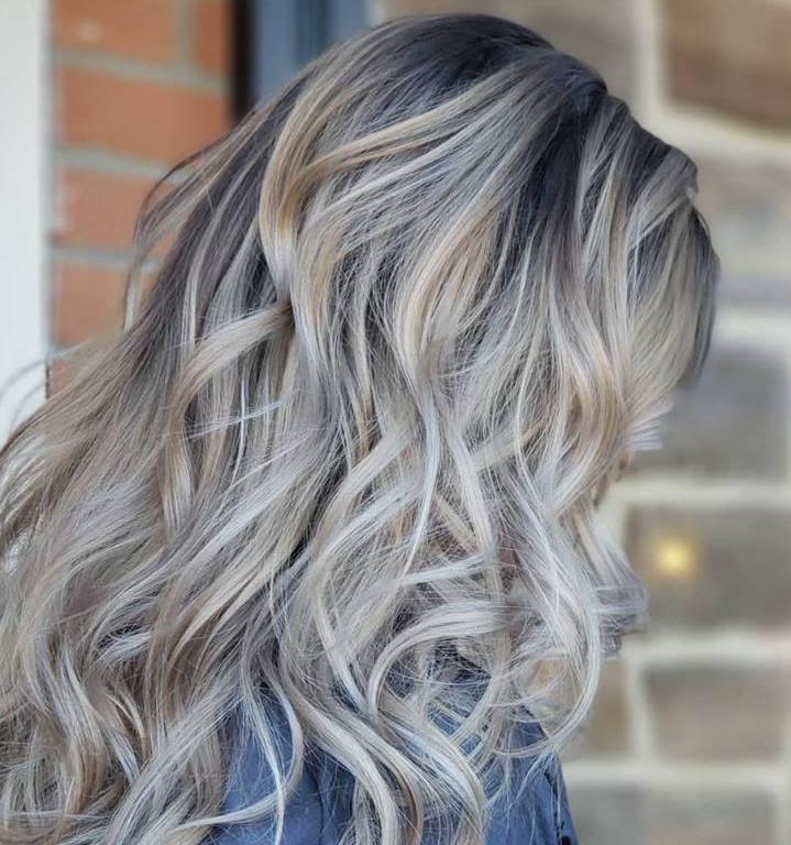 Bright Icy Blonde illumination